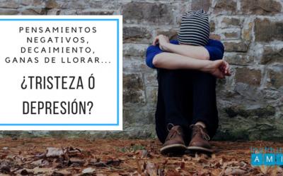 ¿Tristeza o depresión?